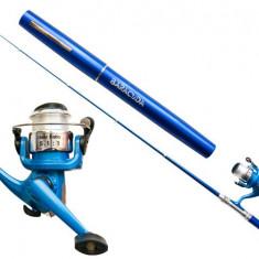 Kit pescuit la copca #3 Baracuda - Lanseta Baracuda, Lansete Telescopice