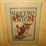 GASTRONOMICE AL.O.TEODOREANU PREZENTAREA GRAFICA SI ARTISTICA DONE STAN 1973