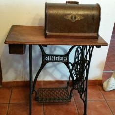 Masina de cusut - Singer - sec .19 .- 1880