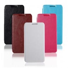 Husa telefon, Roz, Piele Ecologica, Toc, Cu clapeta - Husa ALLVIEW X2 Soul Lite Flip Case Roz