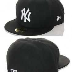 Sapca Barbati - Sapca New Era Fitted NY Yankees mas.7.3/8 = 58.7 cm (sapca full cap, sapca plina)