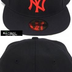 Sapca Barbati - Sapca New Era Fitted NY Yankees mas.7 = 55.8 cm ( sapca full cap, sapca plina )