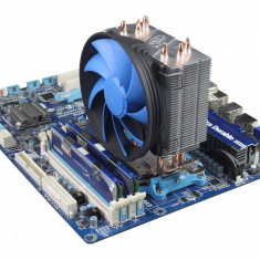 Racire silent Cooler Tower Deepcool Heatpipes Amd FM1 FM2 Fm2+ AM3 AM3+ Am2 Am2+ - Cooler PC Deepcool, Pentru procesoare