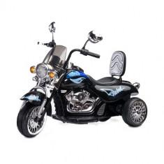 Masinuta electrica copii - Motocicleta Rebel 6V Black