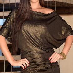 Rochie de club - Y243 Rochi sexy cu maneci largi