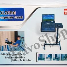 Masa Laptop - Masa pentru laptop reglabila - ajustabila si utila pentru fotoliu, pat, sezlong...