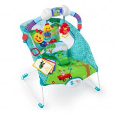 Leagan/Balansoar Bright Starts - Baby Einstein – 60354 Balansoar cu vibratii Caterpillar