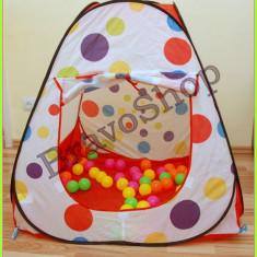 Jucarii - Cort de jucarie pentru copii cu 60 de bile colorate incluse