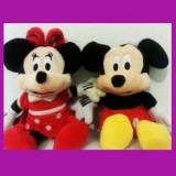 Figurina Desene animate - Set Figurine jucarii muzicale Mickey Mouse Minnie
