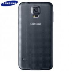 Capac spate baterie samsung galaxy S5 ORIGINAL Black Negru - Capac baterie, Samsung Galaxy S5