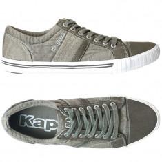 Tenisi originali KAPPA- adidasi kappa barbati - panza - in cutie - 40.5 - Tenisi barbati Kappa, Culoare: Verde, Textil