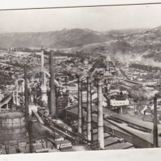 Bnk cp Resita - Peisaj industrial - uzata - Carte Postala Banat dupa 1918, Circulata, Printata