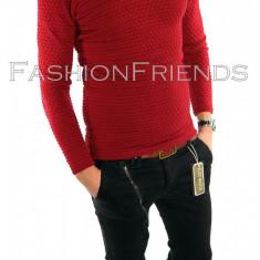 Bluza tip ZARA fashion grena - bluza barbati - cod produs: 5809