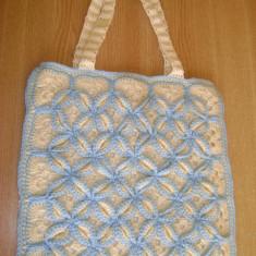 Geanta handmade - Gentuţă croşetată, reducere