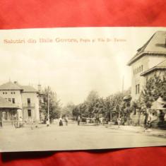 Ilustrata clasica Baile Govora - Posta si Vila Dr Taranu -Ed. A.Maier si D.Stern - Carte Postala Oltenia pana la 1904, Necirculata, Printata