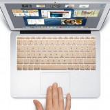 Husa tableta cu tastatura - Husa de protectie pt tastatura EU / UK Apple Macbook Pro Air Retina de 13 / 15
