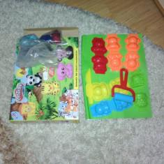 Joc plastelina forme animale - Jocuri Forme si culori