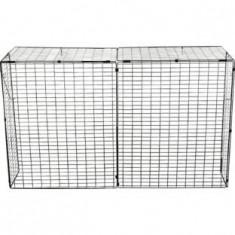 Gard metalic de protectie bebe pentru semineu