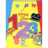 Caiet Tabla - Primele Mele Numere - Carte de colorat