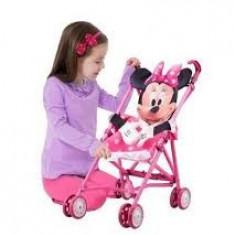 Jucarie plus - Carucior de papusi Minnie Mouse