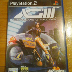 JOC PS2 XG3 EXTREME-G RACING ORIGINAL PAL / STOC REAL in Bucuresti / by DARK WADDER - Jocuri PS2 Altele, Curse auto-moto, 12+, Multiplayer