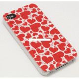 Husa bumper iPhone 4 4S red love OFHi4NJ019
