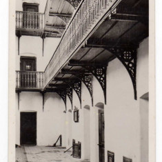 GHERLA, INTERIORUL FOSTEI CETATI, RAKOCZI VAR BEJARATA SZAMOSUJVAR, INCHISOARE - Carte Postala Transilvania dupa 1918, Necirculata, Fotografie