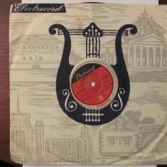 PVM - Disc turatie 78 (patefon, pick-up) Valentin Teodorian - Muzica Pop electrecord, VINIL