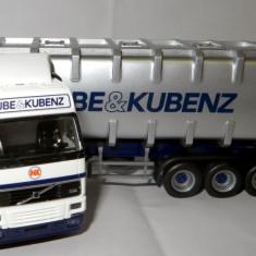 Macheta auto - Herpa VOLVO FH12 container Kube & Kubenz 1:87