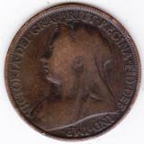 Marea Britanie ONE PENNY 1896 imparateasa Victoria