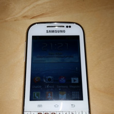 Telefon Samsung, Alb, 4GB, Neblocat, Single SIM, Single core - Vand Samsung Galaxy Chat Alb