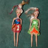 2 Jucarii papusa Barbi mici, 15cm, cap de cauciuc, restul din plastic - Papusa de colectie