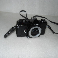 Vand aparat foto PORST COMPACT-REFLEX M42, body impecabil