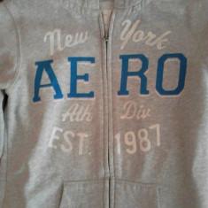 ROLINGURI BUMBAC AEROPOSTALE(ORIGINALE) DIN- SUA - Bluza dama Aeropostale, Marime: 38, Culoare: Argintiu, Maneca lunga, Universala