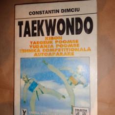 Taekwondo (Kibon.Taegeuk Poomse.Yudanja Poomse.Tehnica competitionala.Autoaparare./ cu numeroase figuri)- Ctin.Dimciu