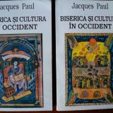 Biserica si cultura in Occident : secolele IX-XII / Jacques Paul (2 vol.) - Carti Istoria bisericii