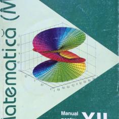 MATEMATICA M2 MANUAL PENTRU CLASA A XII-A - Ilie Petre Iambor - Manual scolar Aramis, Clasa 12, Aramis