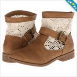 100% AUTENTIC - Pantofi CHARLES ALBERT - Cizme Dama, Femei - Cizme Primavara, Vara - Ghete Crosetate - Ghete Originale
