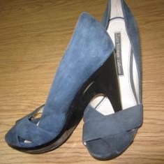 VAND PANTOFI ZARA - Pantof dama, Marime: 38, Culoare: Albastru