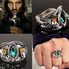 Inel fashion - Inel LORD OF THE RINGS LOTR - Inelul Lui Aragorn - Marimi Disponibile : 7, 8, 9, 10