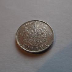 200 LEI 1942 - MIHAI I - ARGINT - Moneda Romania