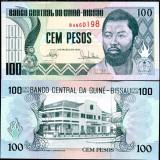 GUINEEA BISSAU- 100 PESOS 1990- UNC!! - bancnota africa