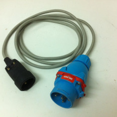 Prelungitor - Adaptor de la 220 V la 380 V de 2, 5 Metri