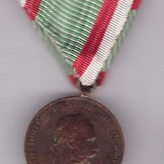Ordin - Austro-Ungaria - Medalie Franz Joseph 2 december 1873