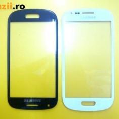Touchscreen telefon mobil, Samsung Galaxy S3 Mini - Geam Samsung Galaxy s3 mini i8190 Touchscreen sticla albe produs original
