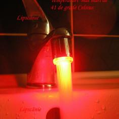 Baterie sanitara - Cap Robinet cu Senzor de Temperatura si LED in 3 Culori (perlator, aerator)
