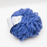 Fire tricotat/crosetat TECHNO - culoare albastra