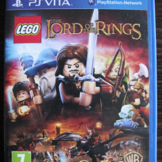 PSVITA The Lord of The Rings - seria LEGO - Jocuri PS Vita, Strategie, Toate varstele, Multiplayer