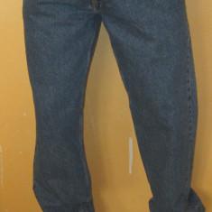Blugi barbati Calvin Klein, Lungi, Drepti, Normal - Blugi Originali Calvin Klein - Clasici / Eleganti / Vintage W 33 L 34 ( Talie 83 / Lungime crac 83 / Lungime totala 110 )