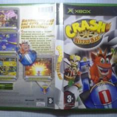 Joc XBox classic ( Compatibil XBox 360 ) - Crash Nitro kart - (GameLand ) - Jocuri Xbox, Simulatoare, 3+, Multiplayer